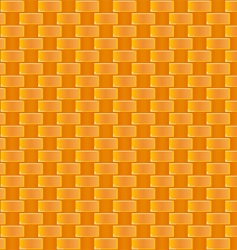 cane weaving pattern vector image