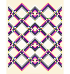 geometric pastel colors background vector image vector image