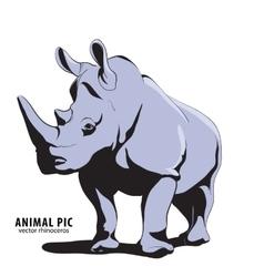 rino vector image