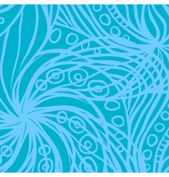 Blue abstract patter vector image