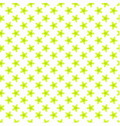 daffodils on the blue seamless pattern vector image