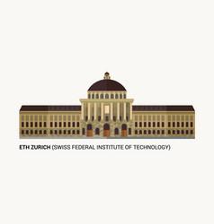 Eth zurich swiss federal institute technology vector