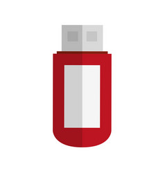 Flash disk icon vector