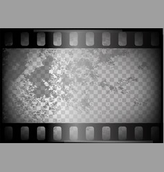 Old film on trasparent background vector