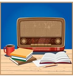 Old radio vector