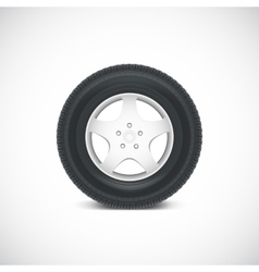 Car Wheel vector image