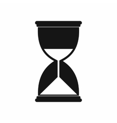 Hourglass icon in simple style vector image vector image
