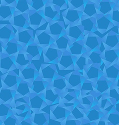 Abstract blue lights vector image vector image