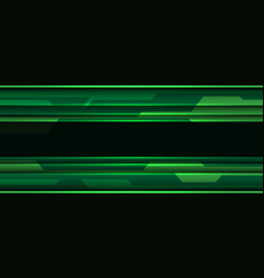 Abstract green black cyber circuit geometric vector