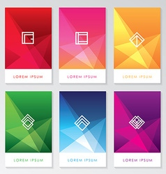 Company brochure Template vector