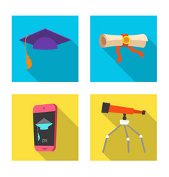 education and learning icon vector image