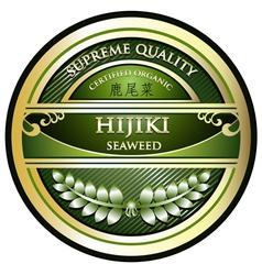 Hijiki Seaweed vector image
