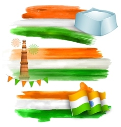 India banner for sale and promotion vector image