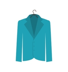 Jacket femenine icon image vector