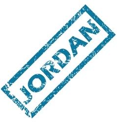 Jordan rubber stamp vector
