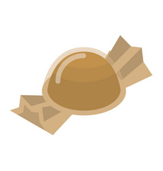 Packed truffle icon isometric style vector