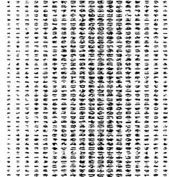 black grunge pattern vector image