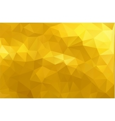 Mosaic Golden glitter templates vector image vector image