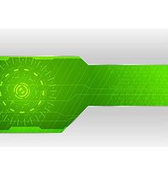 Technological background - for folder or card vector image vector image