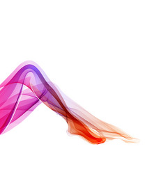 Woman abstract legs vector