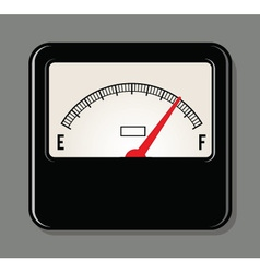 Analog Electrical Power Meter vector image