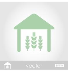 Barn icon vector