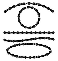 Chain Frames vector