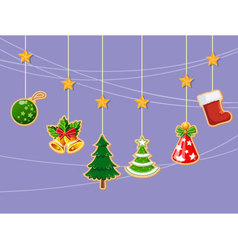 Christmas holiday dresses collection of icons 3 vector