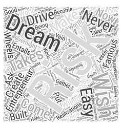 Famous entrepreneurs ll Word Cloud Concept vector