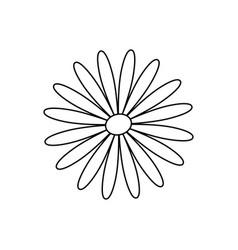 Flower cute nature vector
