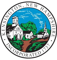 Kensington City vector image
