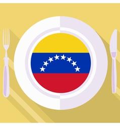 Kitchen of Venezuela vector