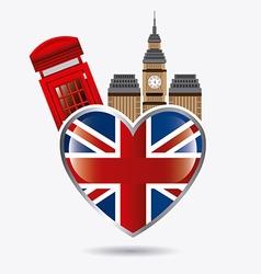 London england design vector image