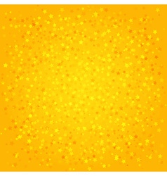 Orange abstract background with stars vector