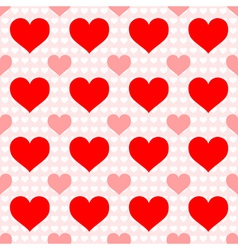 Red heart seamless wallpaper vector