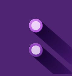 Volume icons symbol colon vector