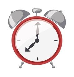 Clock watch alarm vector image