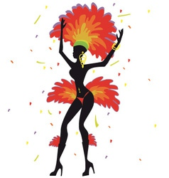 Rio Carnival vector image