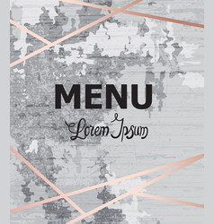 abstract menu grunge modern background vector image