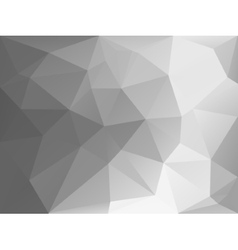 Black and white triangle abstract background vector image