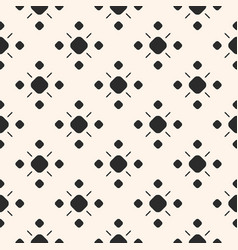 monochrome ornamental seamless pattern vector image