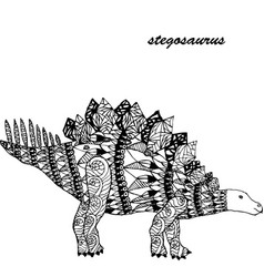 Pterodactyl - prehistoric monster antistress vector