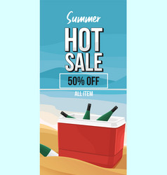 summer sale 6 vector image