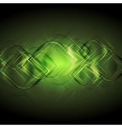 Elegant green backdrop vector image vector image