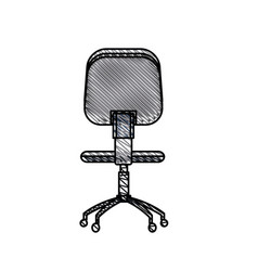 Office chair work image vector