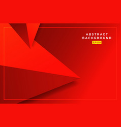 Abstract red hipster futuristic graphic vector