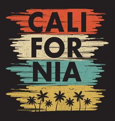 calofornia print2 vector image