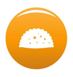 pattie icon orange vector image
