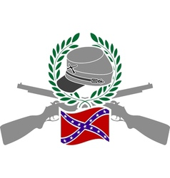 Glory of Confederacy vector image vector image