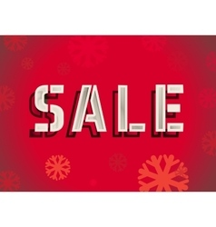 Hot sale New year vector image